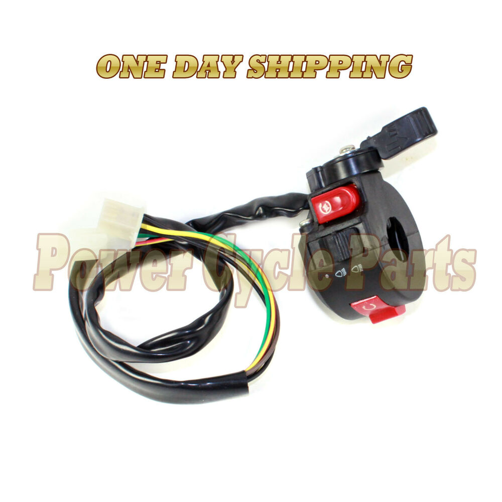 6 Wire 6 Pin Chinese Atv Mini Quad Left Side Control