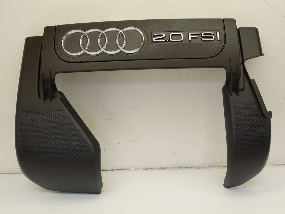 audi a3 8p 2 0 fsi engine cover new genuine 06f103925a ebay. Black Bedroom Furniture Sets. Home Design Ideas