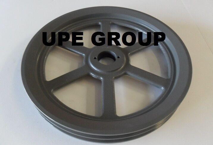 Cast Iron Pulley Sheave For Electric Motor 2 Groove