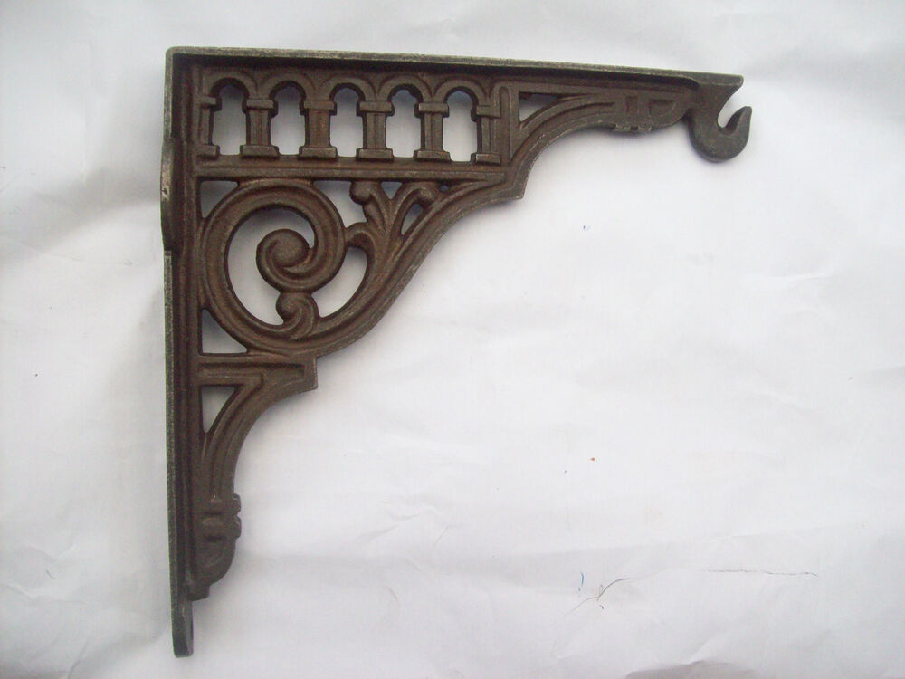 10 Heavy Duty Cast Iron Vintage Decorative Metal Hanging