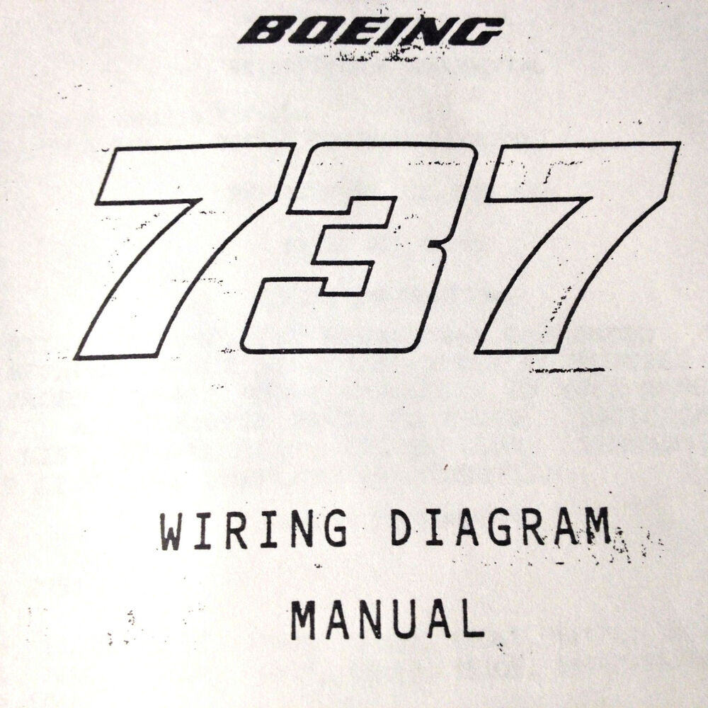 Wiring Diagram Manual Wdm : Boeing a airframe wiring diagram manual ebay