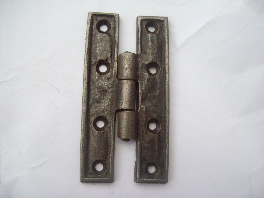 90mm antique cast iron h hinge cabinet cupboard door for Furniture hinges