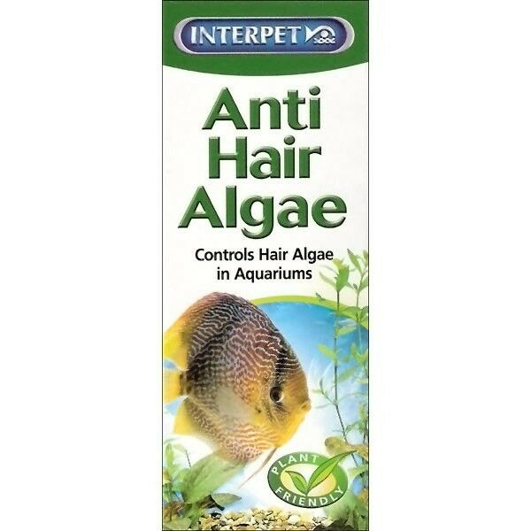 Interpet algae control anti hair 100ml water treatment for What causes algae in fish tanks