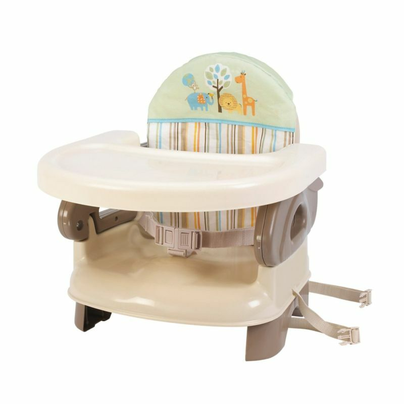 summer infant deluxe comfort booster baby seat high chair feeding tan new ebay. Black Bedroom Furniture Sets. Home Design Ideas