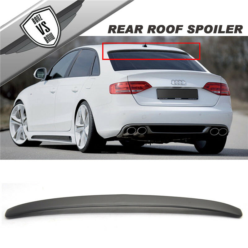 09 14 audi a4 s4 b8 k8 4dr sedan rg style pu rear roof. Black Bedroom Furniture Sets. Home Design Ideas