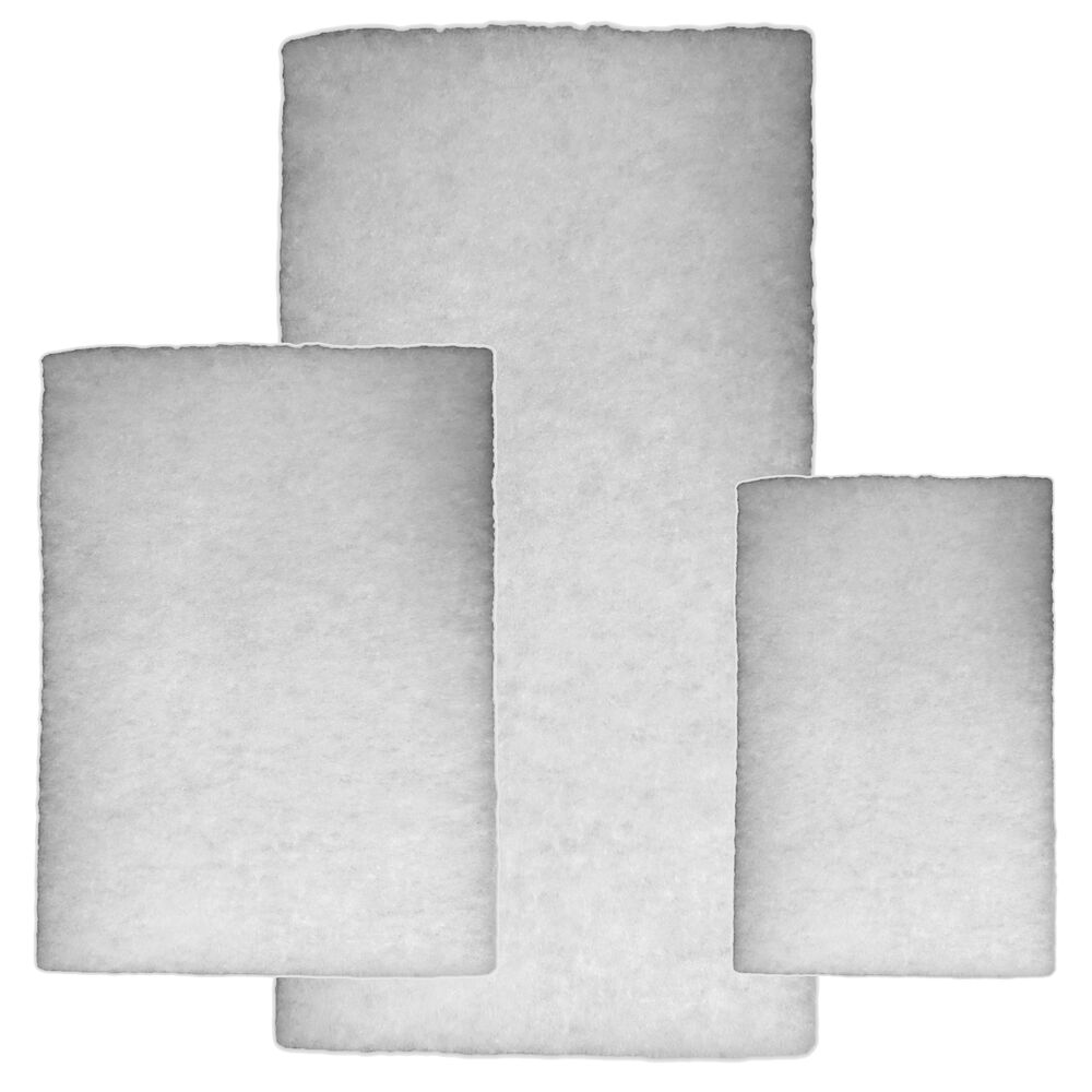 Garden fish pond fine filter floss sponge foam wadding for Pond filter foam which way up