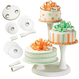 wilton wedding cake stands wilton 3 tier pillar cake stand wedding birthday ebay 27534