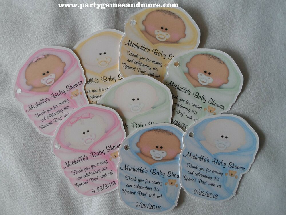 unique personalized baby shower party favor tags gift tags ebay