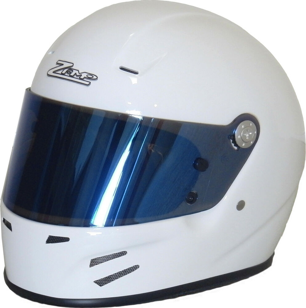 Zamp fsa 2 sa2010 auto racing helmet hans predrilled for Snell motors used cars