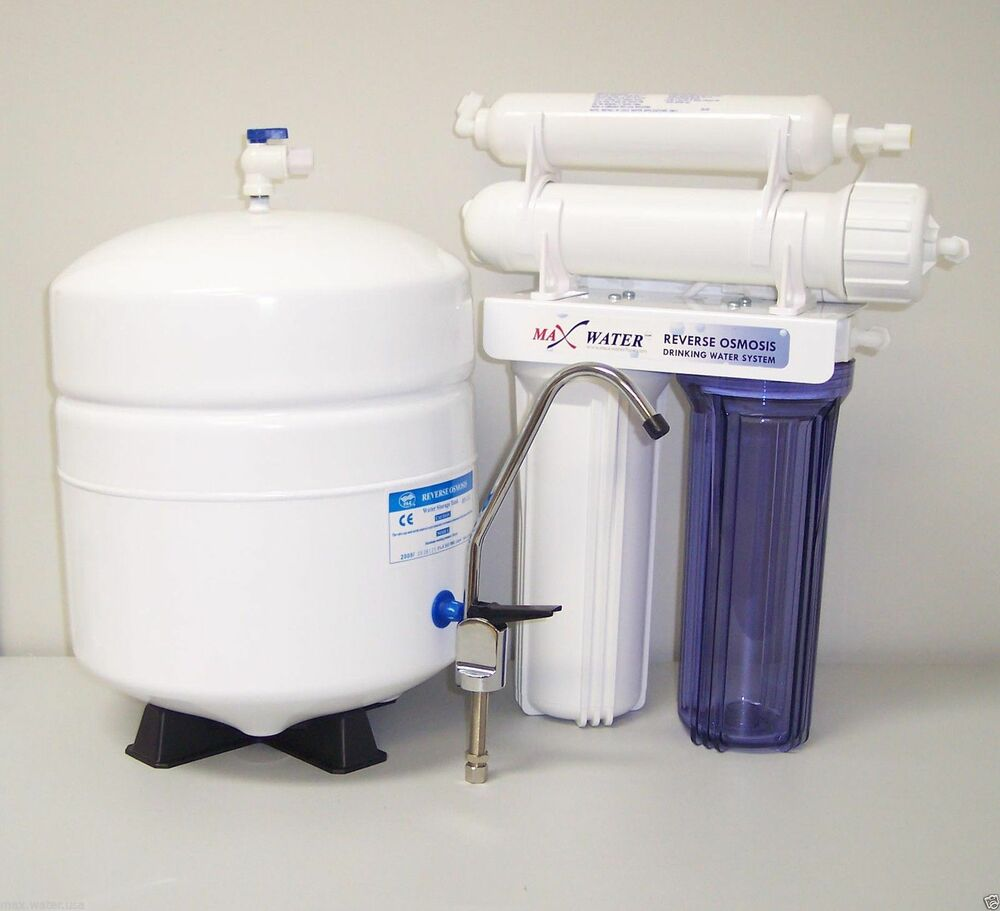 Max Water 4 Stage Home Drinking Reverse Osmosis System