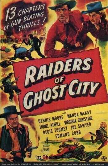 raiders of ghost city classic movie cliffhanger serial