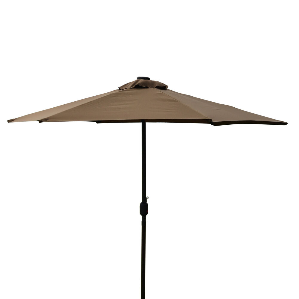 SUPERNOVA 9'FT Solar 30 LED Lights Patio Umbrella Outdoor