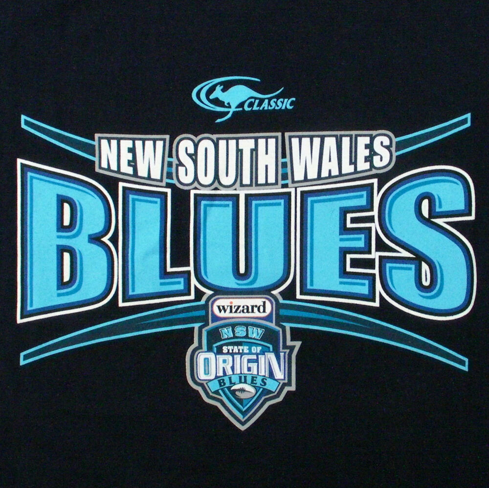 NSWRL NEW SOUTH WALES T-SHIRT (Adults) State Of Origin