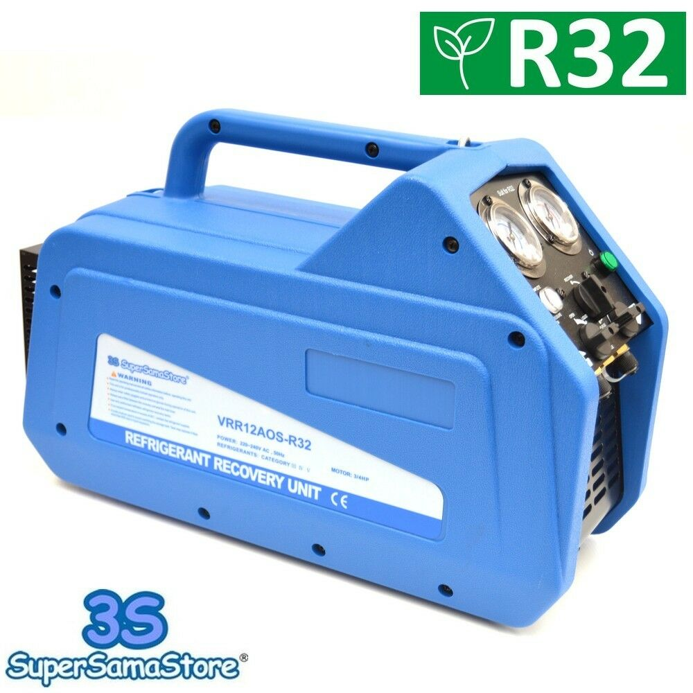 3s New Refrigerant Recovery Machine Unit Oil Less Value