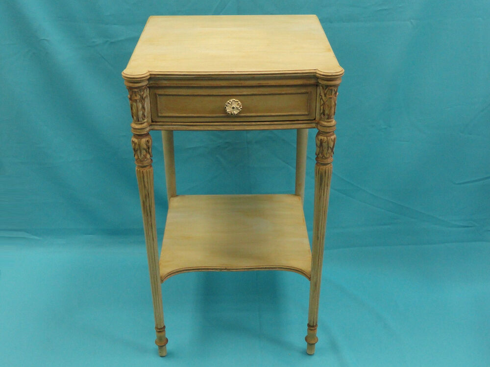 Rare Early Mid Century Widdicomb Furniture Co Grand Rapids Nightstand Table Ebay