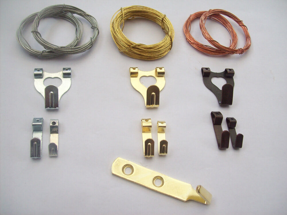 Picture Photo Frame Wall Hanging Hooks And Wire Ebay