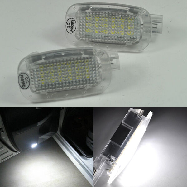 Led courtesy door lights for mercedes benz w212 w221 sl gl for Mercedes benz door lights