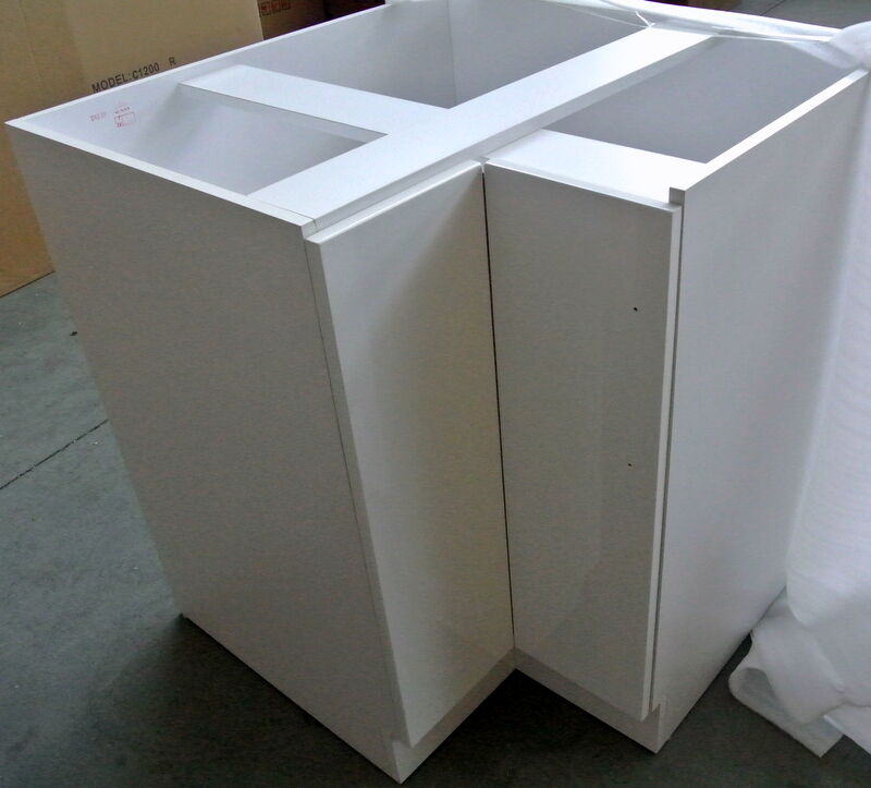 900 900mm diy corner kitchen laundry floor standing for Floor standing corner bathroom cabinet