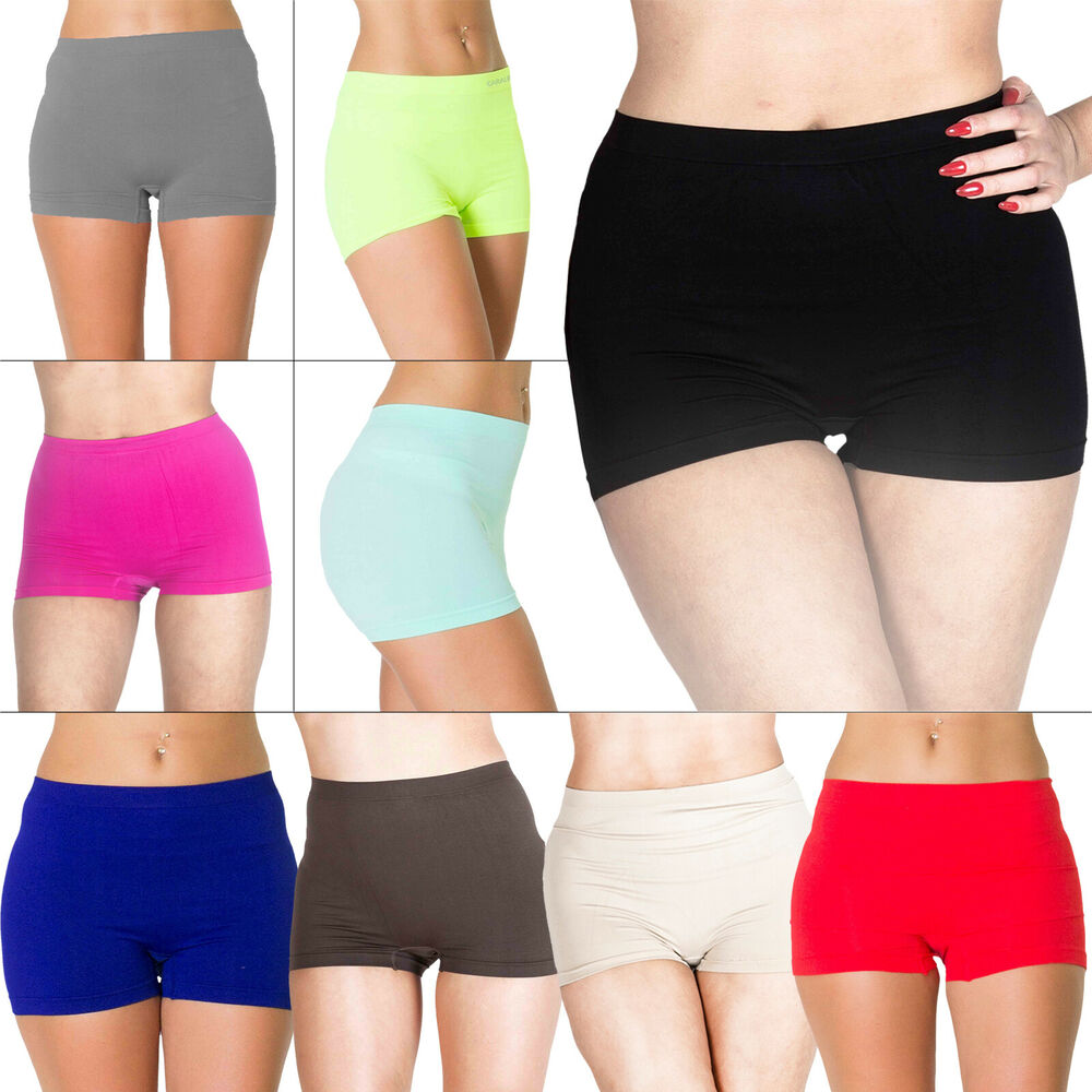 Amazing New Womens High Waist Boxer Pants Shorts Underwear Plus Size 16 18 20