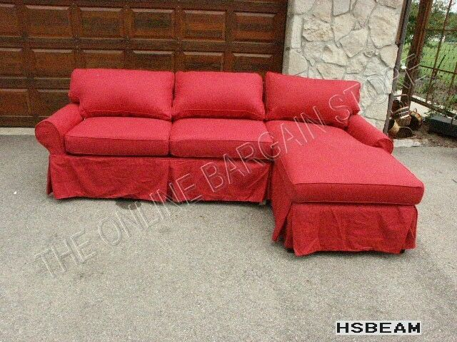 Pottery Barn Pb Basic Modular Sofa Couch Sectional