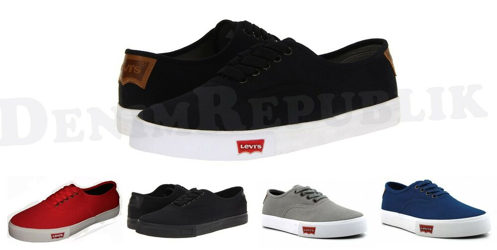 Mens Canvas Shoes Levis