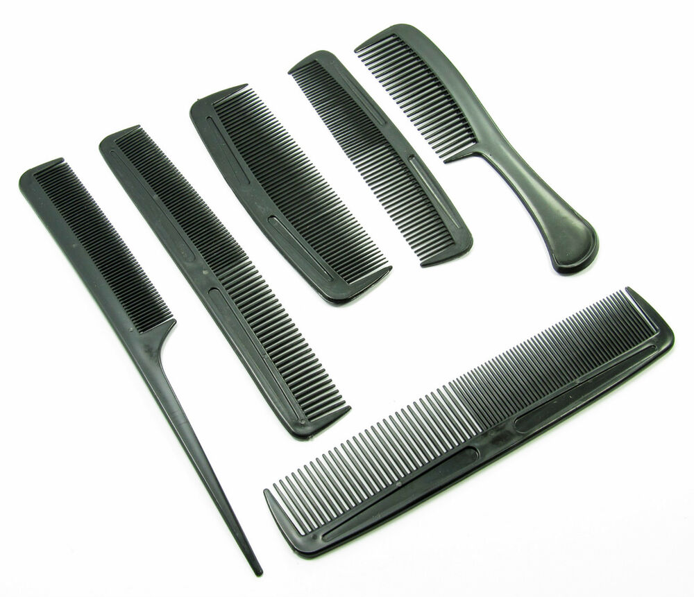 hair styling comb 6 comb set for hair styling amp k combing family pack 3449