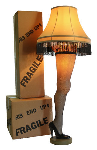 Full Size 50 Inch Leg Lamp from A Christmas Story | eBay