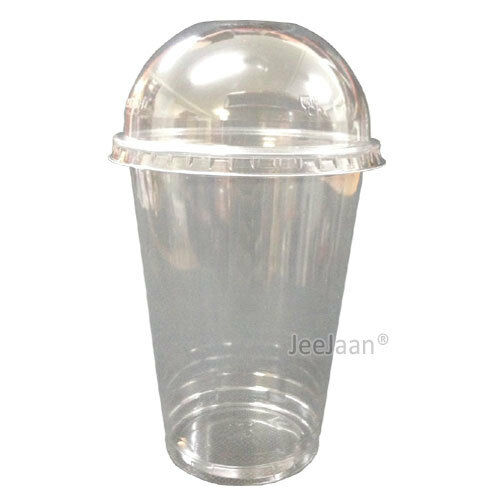 16oz large smoothie cups with domed lids clear plastic for Where to buy canape cups
