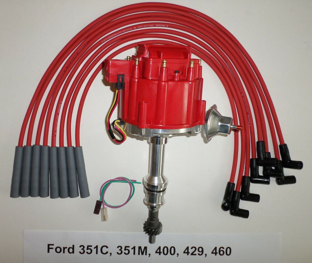 351m Wiring Hei Schematics Diagrams 351 Cleveland Distributor Diagram Big Block Ford 351c 400 429 460 Red Mopar Conversion