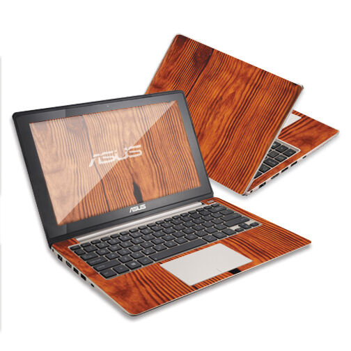 """Skin Decal Wrap for Asus VivoBook Laptop 11.6"""" Knotty Wood ..."""