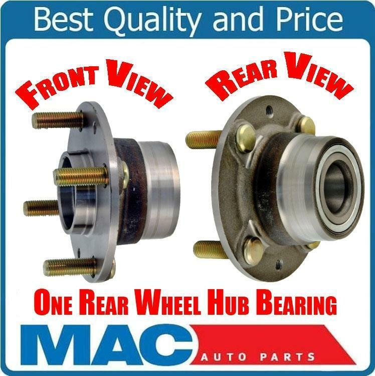 Car Wheel Hub Assemblyon : Pt rear wheel bearing and hub assembly for cars with