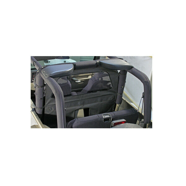 Gray roll bar curtain fits jeep cj wrangler yj tj 1980 06 - Jeep cherokee exterior roll cage ...