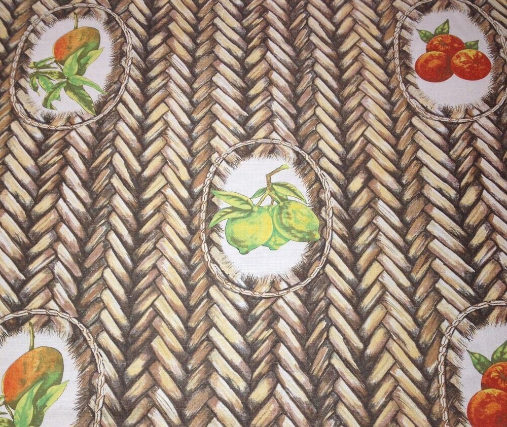 Tropical fabrics wallcoverings palm tree fruit linen for By the yard fabric