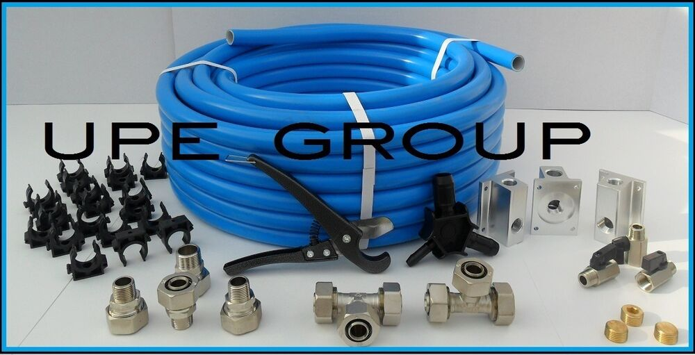 Maxline Compressed Air Tubing Piping System Master Kit 3 4