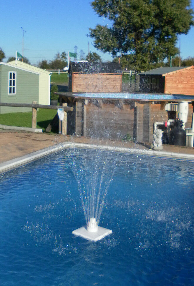 Swimming Pool Fountains : Floating swimming pool fountain ebay