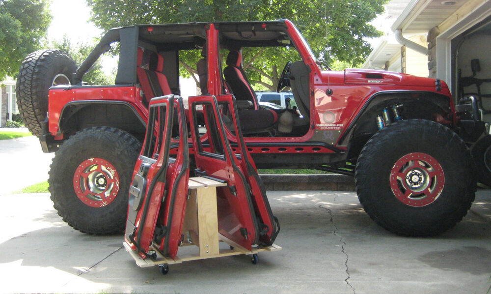 Jeep Door Storage Cart Plans Jeep Wrangler Hard Top