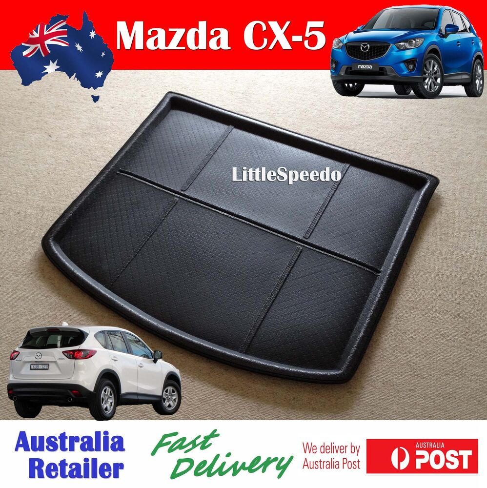 mazda cx 5 cx5 3d boot liner cargo mat tray rear trunk floor protector ebay. Black Bedroom Furniture Sets. Home Design Ideas