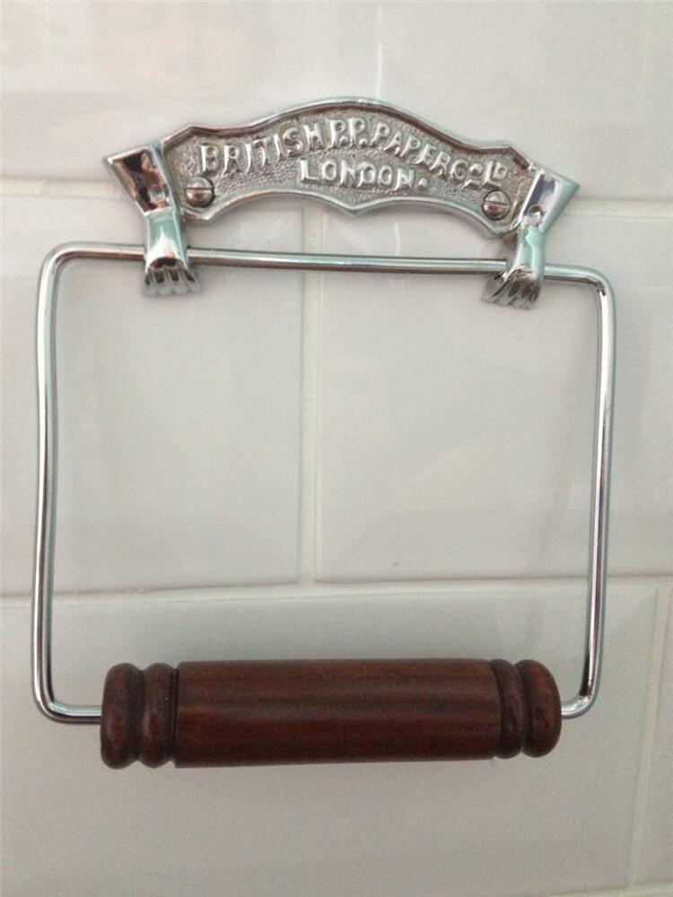 Quality antique vintage style chrome brass toilet roll Antique toilet roll holders