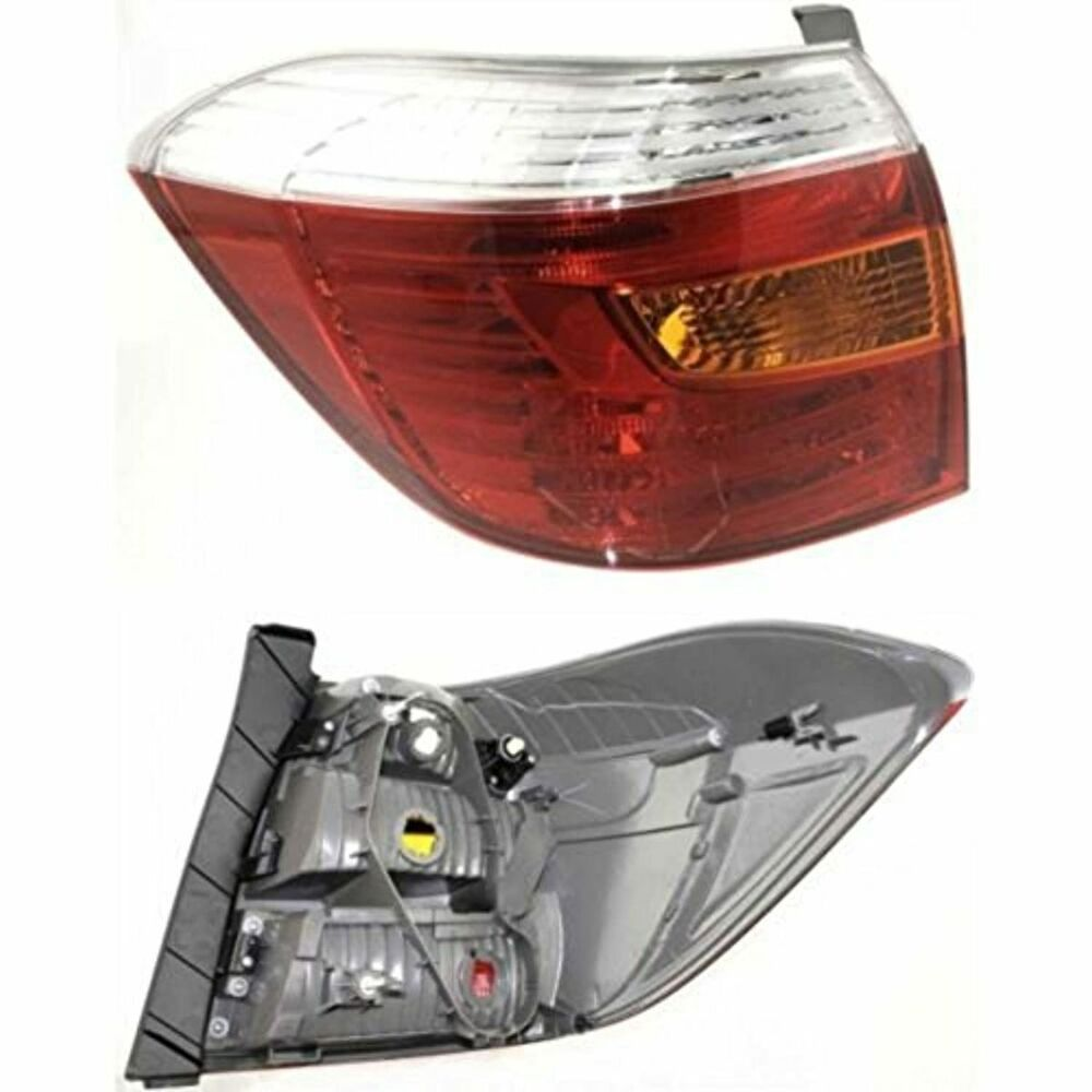 08 10 Toyota Highlander Tail Lamp Left Driver Ebay