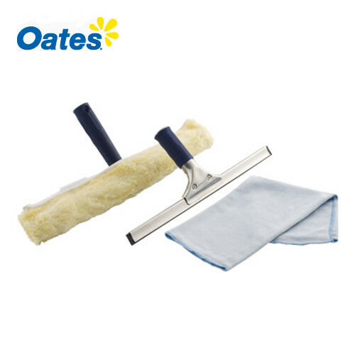 Oates Window Squeegee Glass Cleaning Starter Kit 4sets