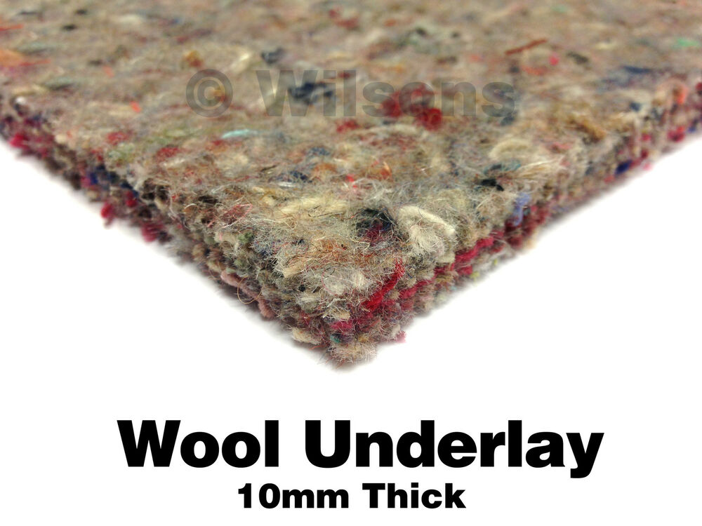 10mm Thick Carpet Underlay Superb Heat Insulation