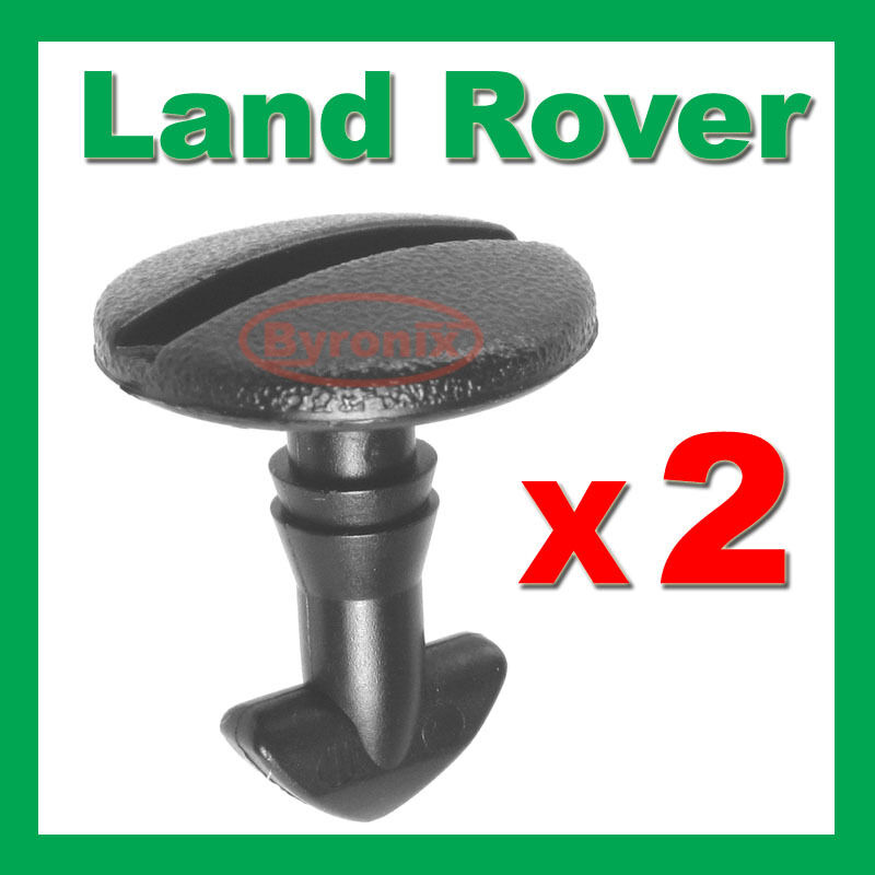 LAND ROVER DISCOVERY 3 4 REAR BUMPER TOW COVER CLIPS