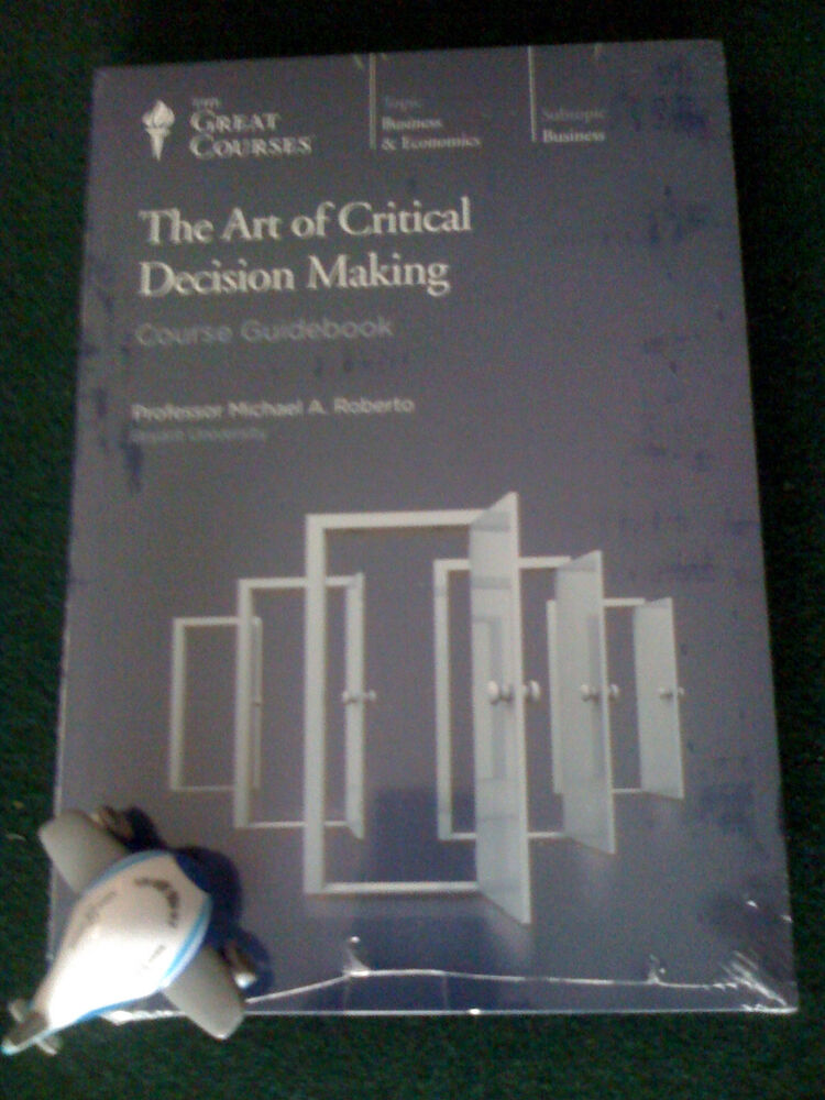 the art of critical decision making The art of non-decision-making  indeed decision avoidance has become an art form in its own right  exclude critical reporters: strong criticism of non-decision.