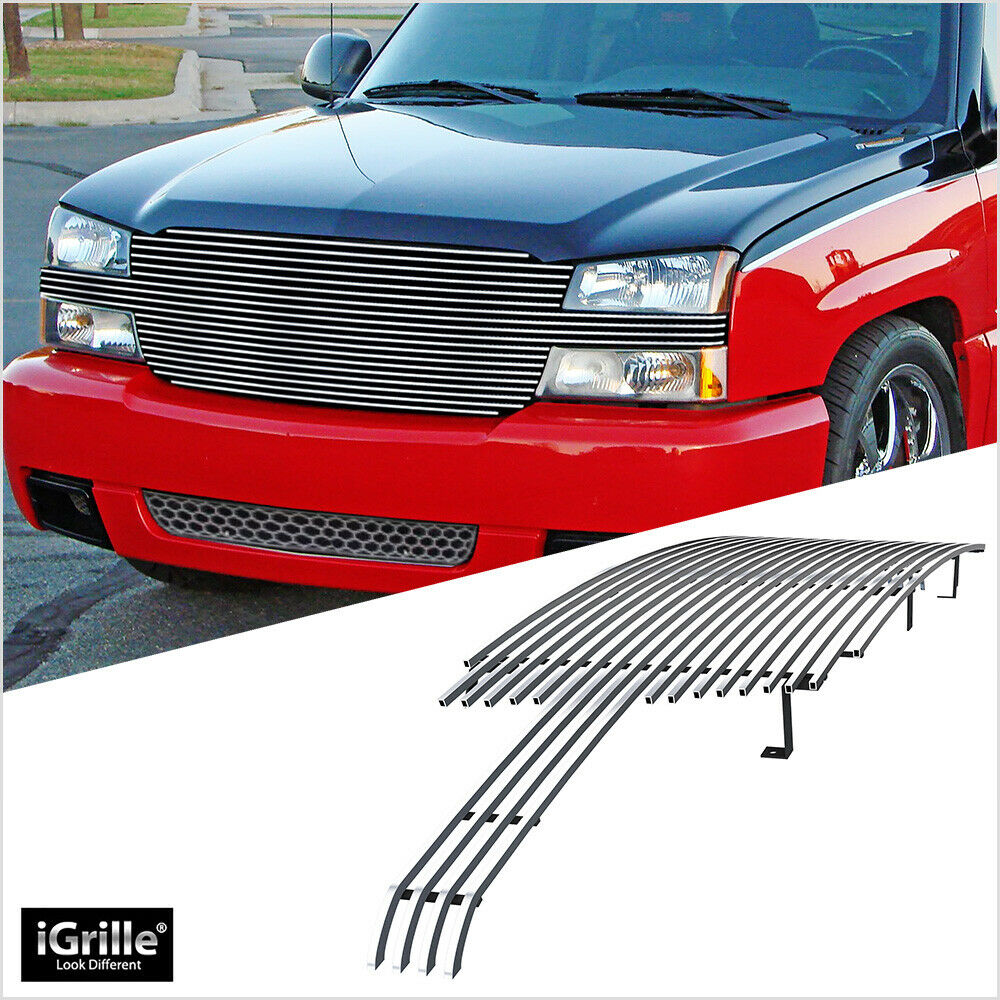 for 03 05 silverado ss 1500 03 06 avalanche billet grille ebay. Black Bedroom Furniture Sets. Home Design Ideas
