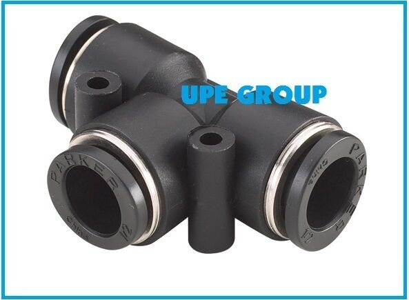 Compressed Air Fittings : Rapidair compressed air tubing piping quot tee fitting