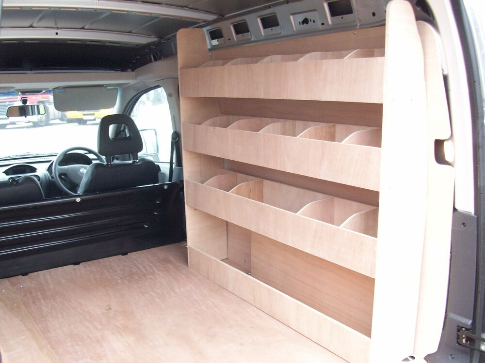 Vauxhall Combo Plywood Van Racking Storage Accessories