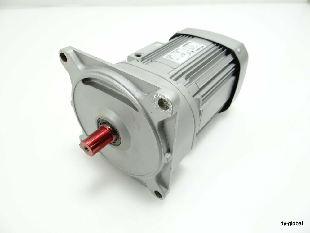 Geared Motor Used Gm Sf 0 4kw Ratio 1 25 3phase 220v