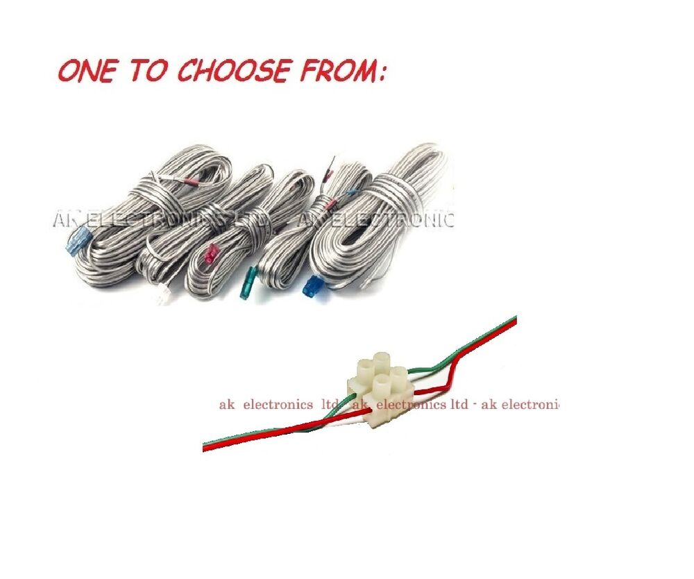 Speaker Wire Extension Connectors : Samsung home cinema centre rear front speaker cable