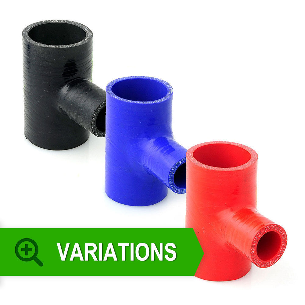 Silicone hose tpiece tpieces tee silicon joiner pipe