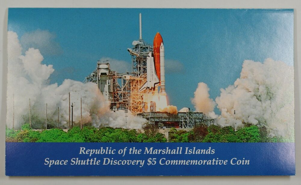 marshall islands space shuttle discovery coin - photo #34